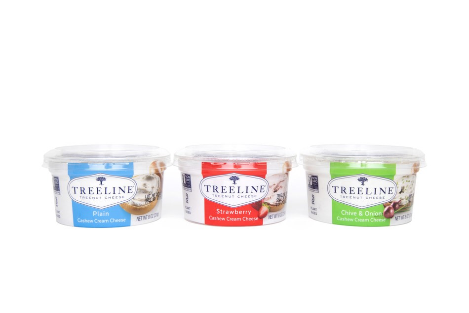 Treeline Introduces New Line Of Cream Cheeses As Consumer Demand For Plant-Based Foods Soars