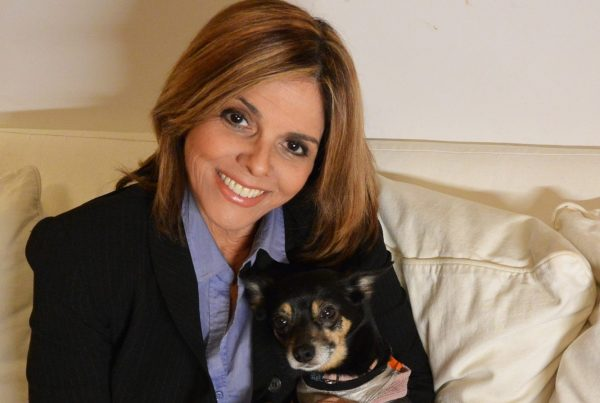 Jane Velez-Mitchell is a talented Latina journalist who advocates tirelessly for animal rights.