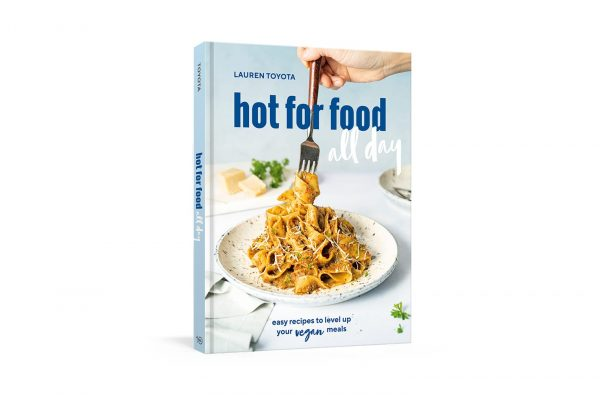 hot for food all day is a collection of simple, tasty recipes, making it the perfect follow up to Vegan Comfort Classics: 101 Recipes to Feed Your Face, Toyota's first bestseller.