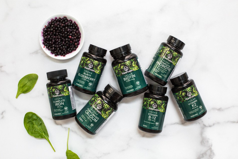 PlantFusion Launches New Vegan Vitamin Line