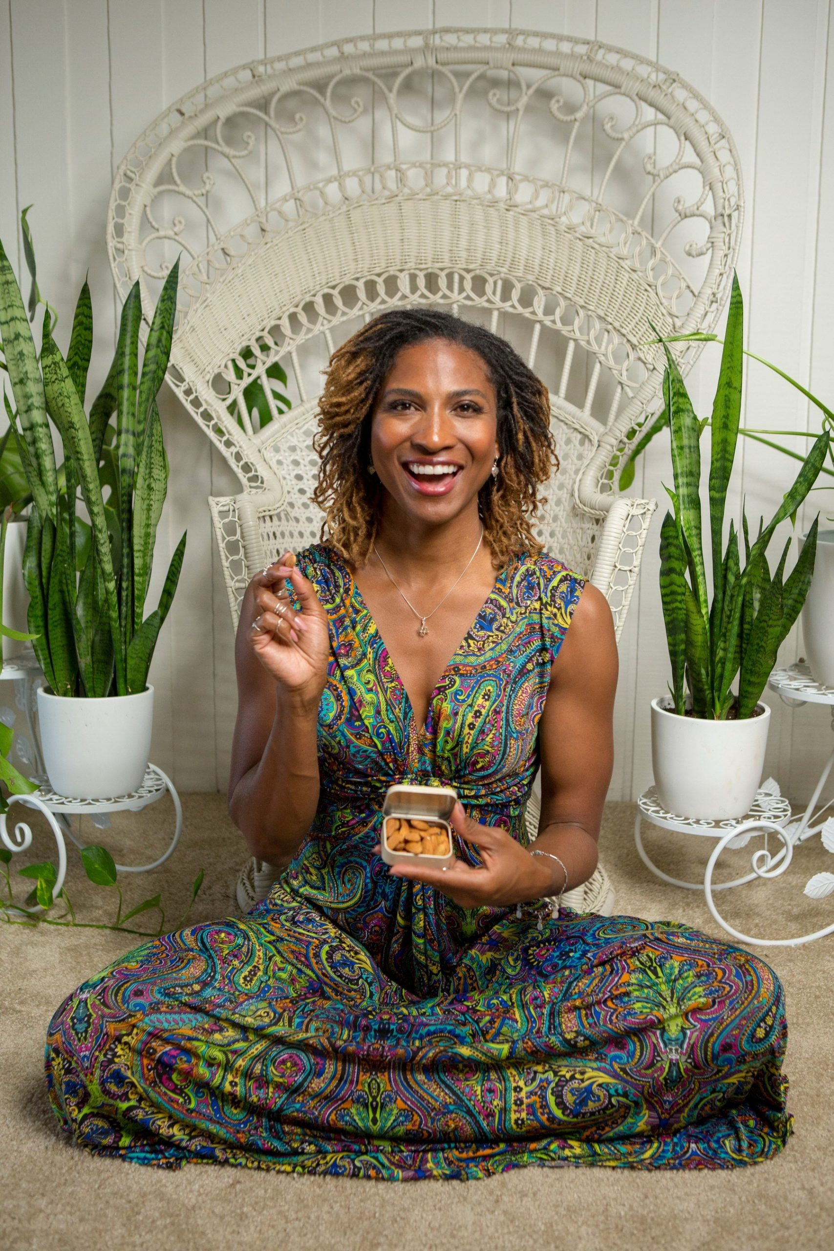Achieve Balance and Mindfulness this Holiday Season with Expert Koya Webb and California Almonds