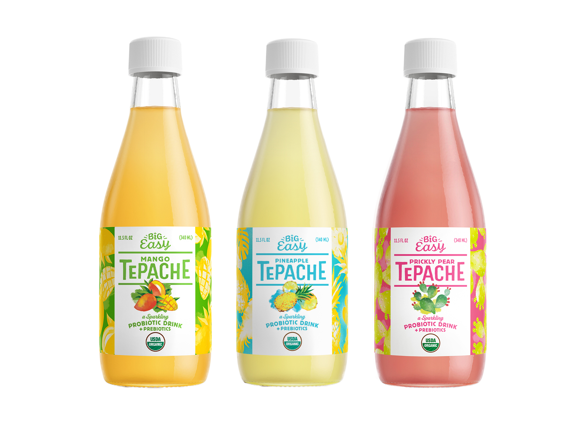 Big Easy Bucha Launches First Line of Bottled Probiotic Tepache Beverages in 2,000 U.S. Retail Locations