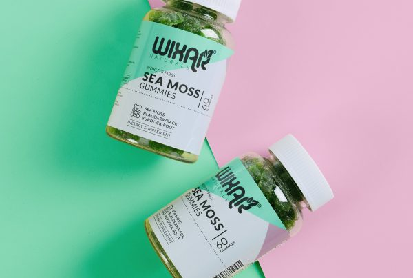 World's First Sea Moss Gummies by Wixar Natutals