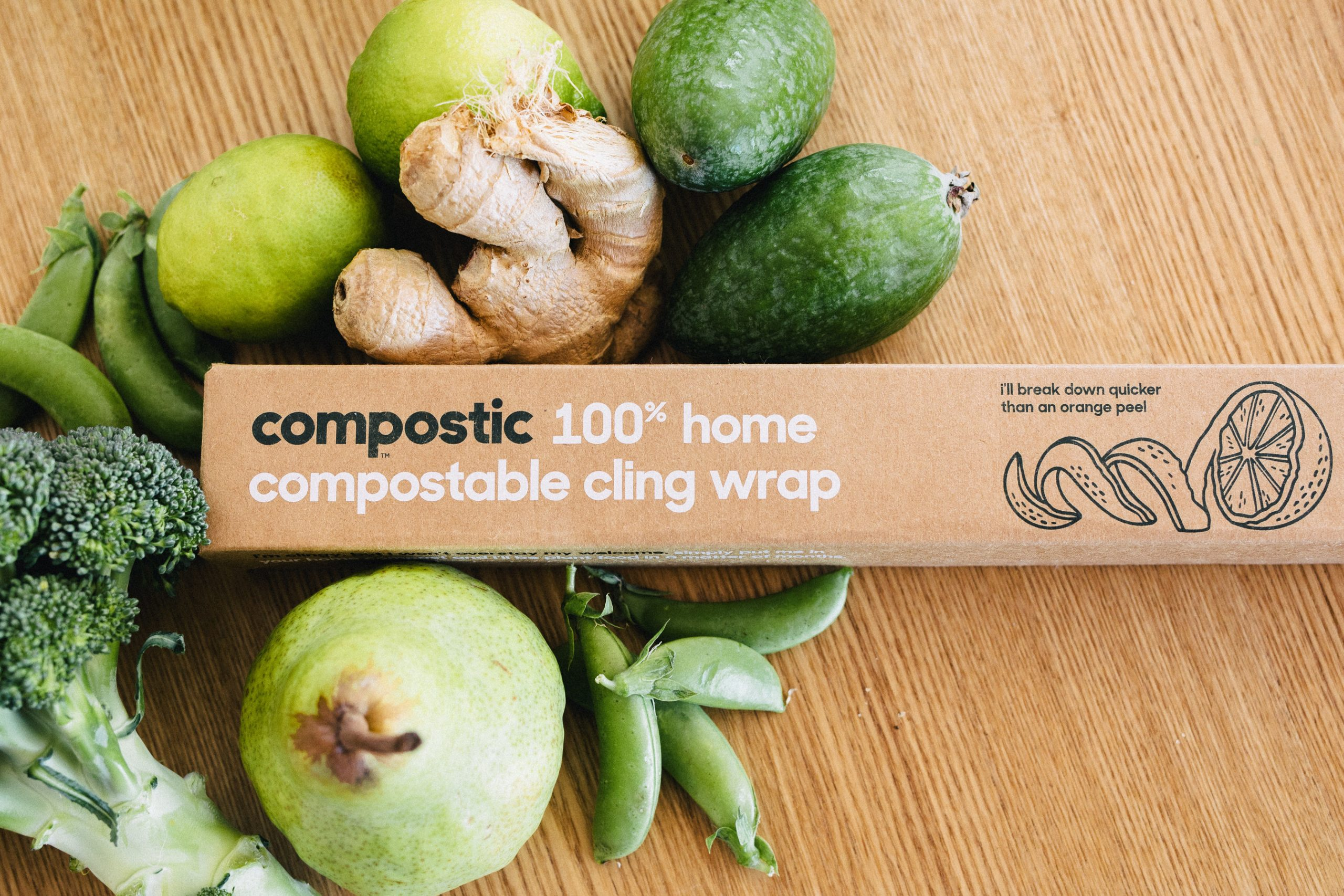 Compostic Launches Certified Home-Compostable Cling Wrap and Resealable Bags in the U.S.