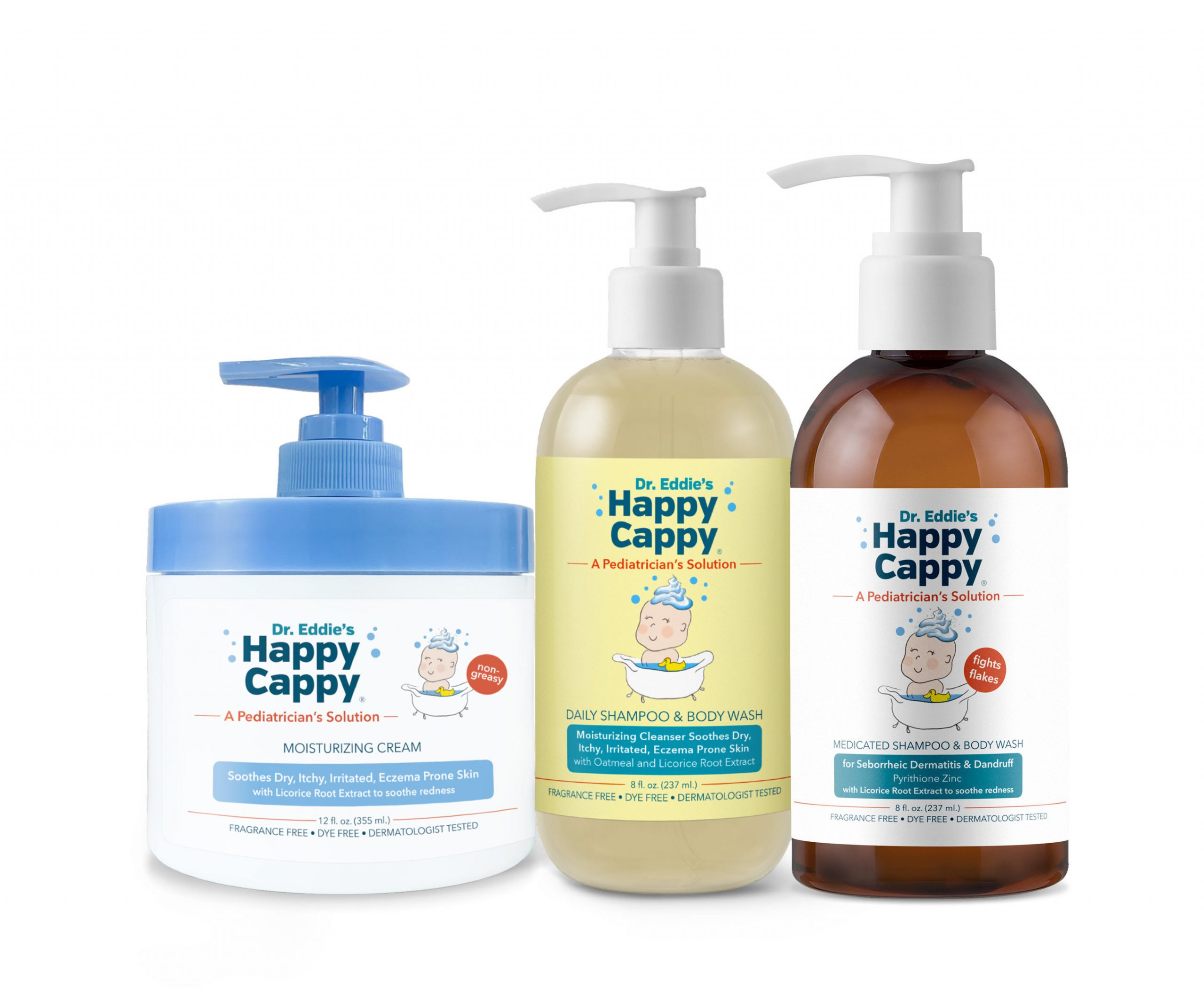 Dr. Eddie's Happy Cappy® Eczema Cream and Daily Shampoo Now Available at Walgreens Stores Nationwide