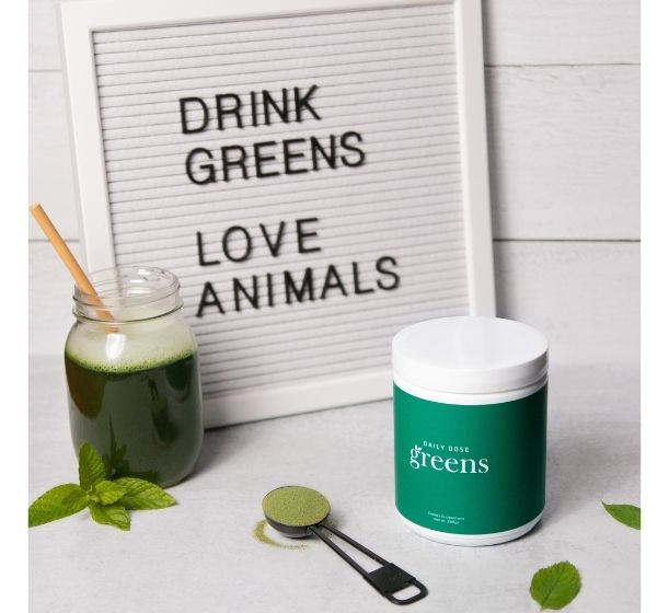 New Vegan Superfood Brand, Daily Dose, Launches Great Tasting Greens Drink