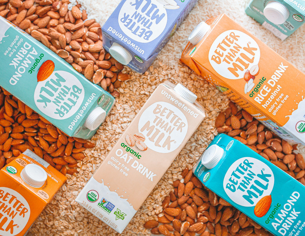 Celebrate August 22 World Plant Milk Day 2021 with Our 7-Day Better Than Milk® Plant-Based Challenge!