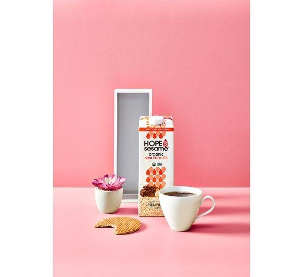 "Hope and Sesame Chocolate Hazelnut Sesamemilk Wins 2021 Progressive Grocer Editors' Pick Award in ""Best New Product"" Category"