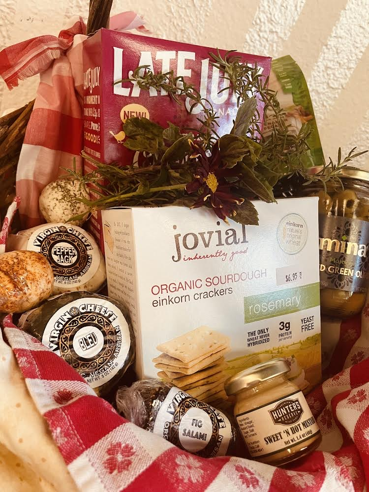 Virgin Cheese Premieres Gift Baskets, Party Platters and More Plant Power for the Holiday Season