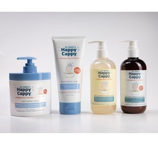 Dr. Eddie's Happy Cappy® is Very Friendly: Vegan-Friendly, Neonatal Acne Friendly and Fungal Acne Friendly
